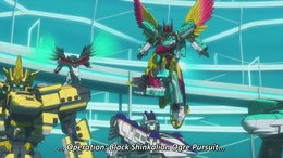 Shinkansen Henkei Robo Shinkalion The Animation English Subbed